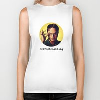 dwight schrute Biker Tanks featuring Perfectenschlag  |  Dwight Schrute by Silvio Ledbetter
