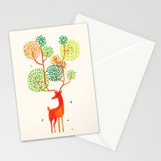 For the tree is the forest Stationery Cards