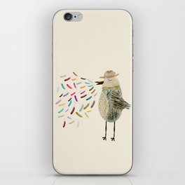 mr tweet iPhone Skin