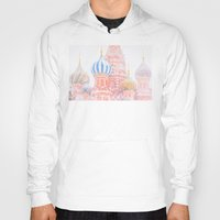 russian Hoodies featuring Russian Winter by digital2real