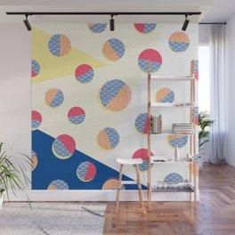 Japanese Patterns 01 Wall Mural