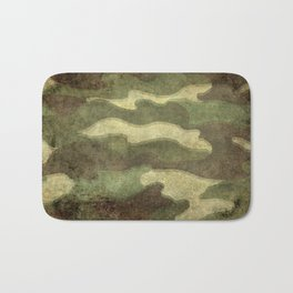 Dirty Camo Bath Mat