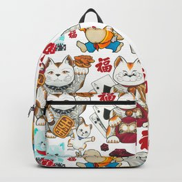 Super Lucky Pattern Backpack