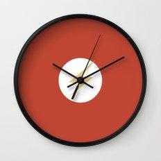 The Flash Vector Logo Wall Clock
