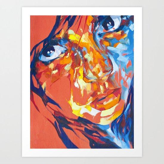 Uplcose Art Print