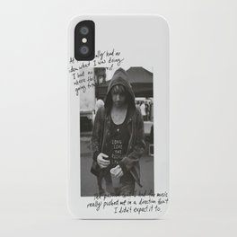 Alex Gaskarth - All Time Low iPhone Case