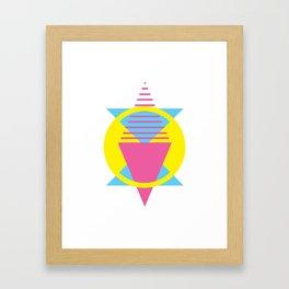 CMY Poster 5 Framed Art Print