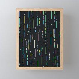 Lines Framed Mini Art Print
