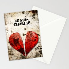 Je suis Charlie Graphic Stationery Cards