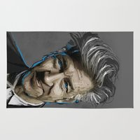 lynch Area & Throw Rugs featuring DAVID LYNCH by AMBIDEXTROUS™