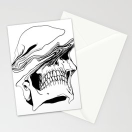 Skull (Liquify) Stationery Cards