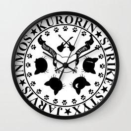 Gatetemon T shirt Wall Clock