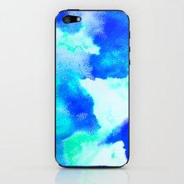 Blue Java iPhone Skin