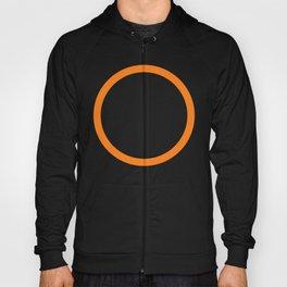 Orange Circle Hoody