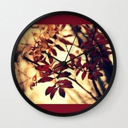 The Rowan Wall Clock