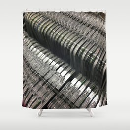 Jaws. Fashion Textures Shower Curtain