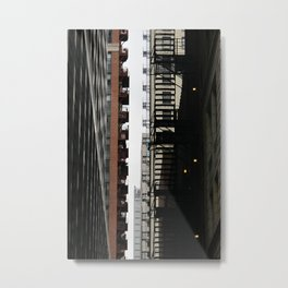 Zipper  Metal Print