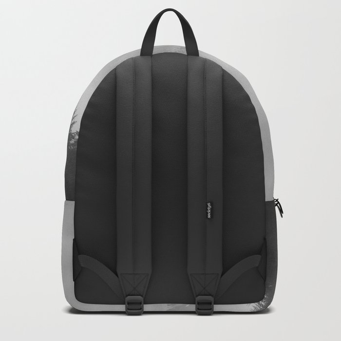 Pastel vibes 11 Black and White Backpack