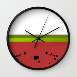 Watermelon is Sandía Wall Clock