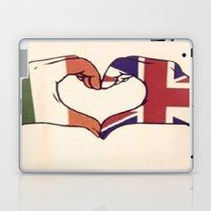 One Direction Inspired UK/Irish Love Heart Laptop & iPad Skin