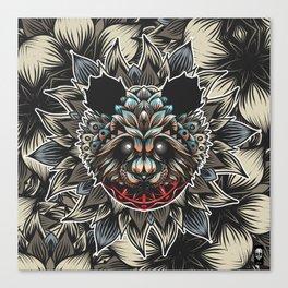 Panda Color Canvas Print