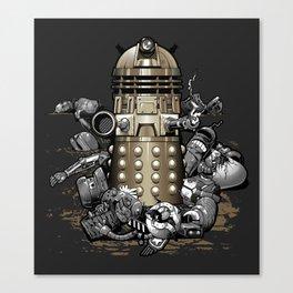 Exterminated! Canvas Print