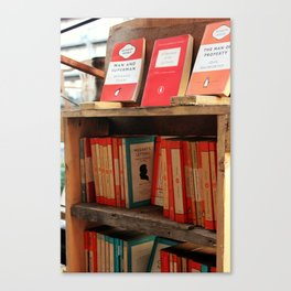 Bookseller Canvas Print