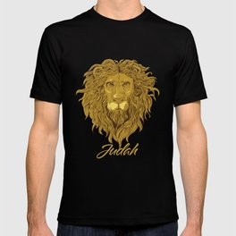 Lion Of Judah - Rastafari _ Jewish Tribe Symbol T-shirt