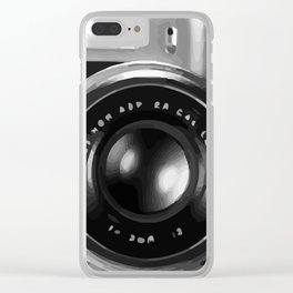 RETRO REFLEX CAMERA Clear iPhone Case
