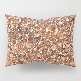 Vintage Marbled Texture - Organic Overdose Pillow Sham