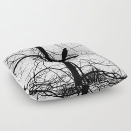 The Raven #2 Floor Pillow