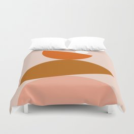 Abstraction_Color_Summer_Playful Duvet Cover