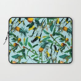 Fruit and Birds Pattern Laptop Sleeve