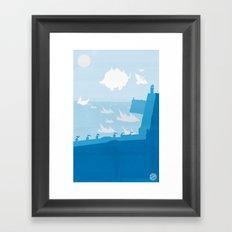 Avatar - Water Book Framed Art Print