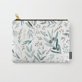 Eucalyptus pattern Carry-All Pouch