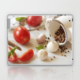 Fresh herbs and Spice for kitchen Laptop & iPad Skin
