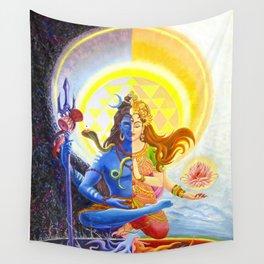 Shiva and Shakti Wall Tapestry
