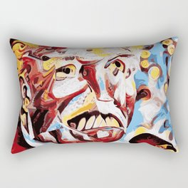 The Leader of the Free World is a Monster Rectangular Pillow