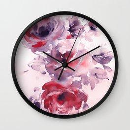 FLORAL#12 Wall Clock