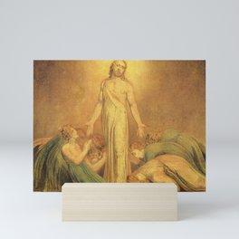 Jesus Christ by William Blake Mini Art Print