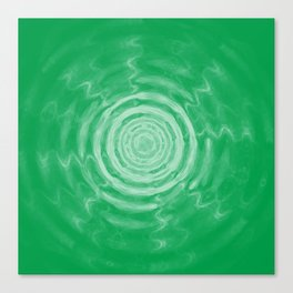 Ripples_Green Canvas Print