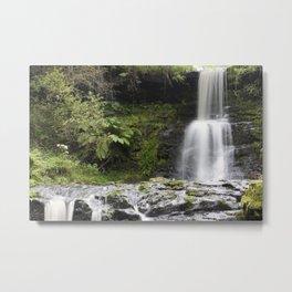 Blaen-y-glyn Waterfall 1 Metal Print