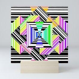 barcode fun. X Mini Art Print