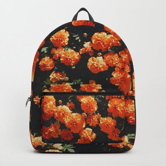 Orange Bloom Backpack