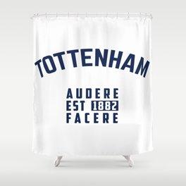 Tottenham - Spurs - Hotspurs - Premier League - Champions league - Soccer T-Shirt Shower Curtain