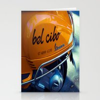 motorbike Stationery Cards featuring Bel Cibo Motorbike by Michael McGimpsey