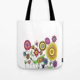 Bright Flowers II Tote Bag