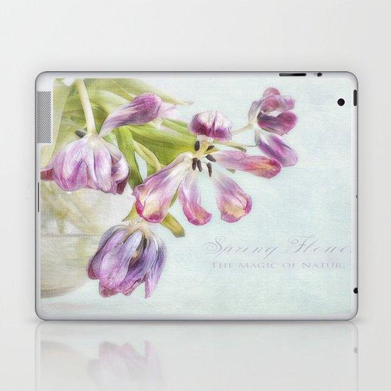 love tulips Laptop & iPad Skin