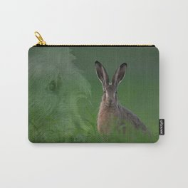 Hare and Hound Carry-All Pouch