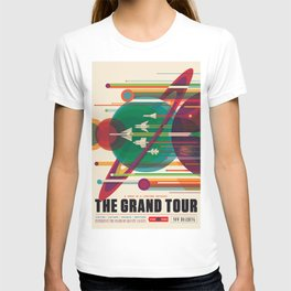 NASA Retro Space Travel Poster #5 T-shirt